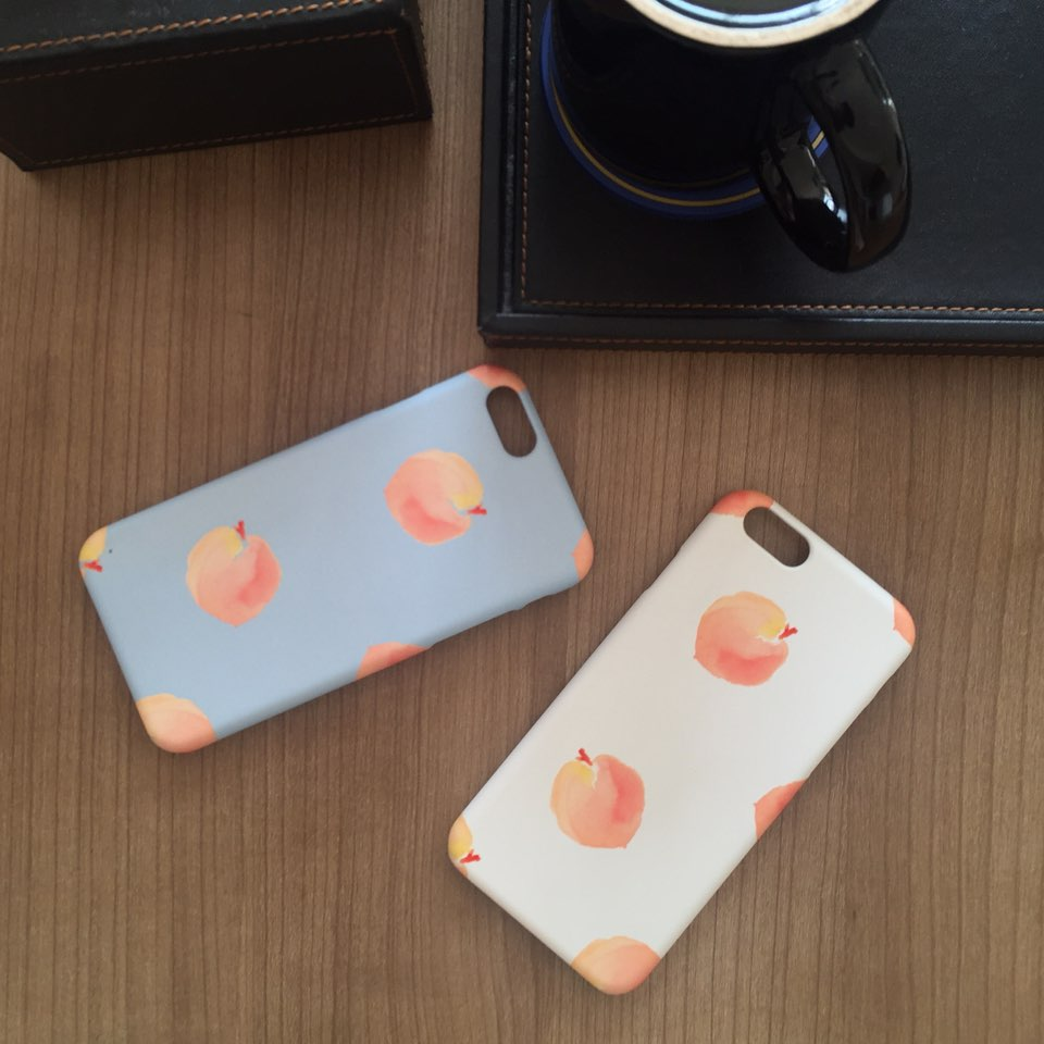 peach pattern (2color)