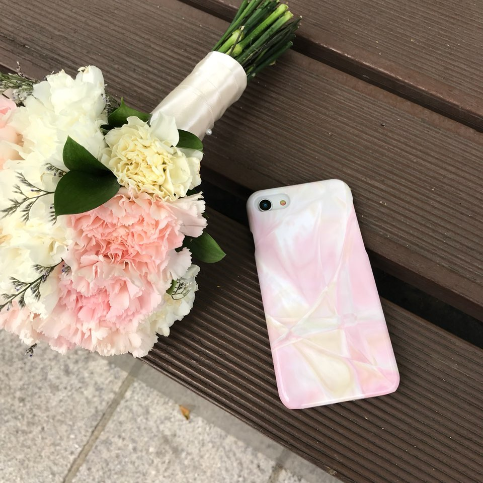 twinkle marble phone case