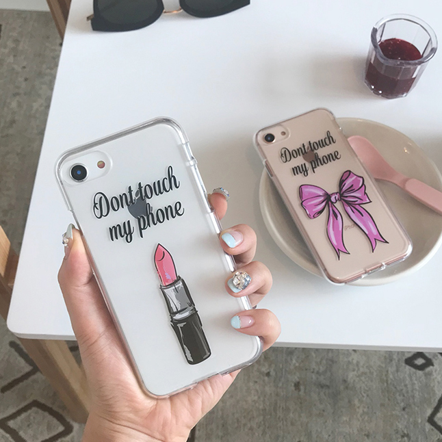 dot touch my phone (젤리) phone case