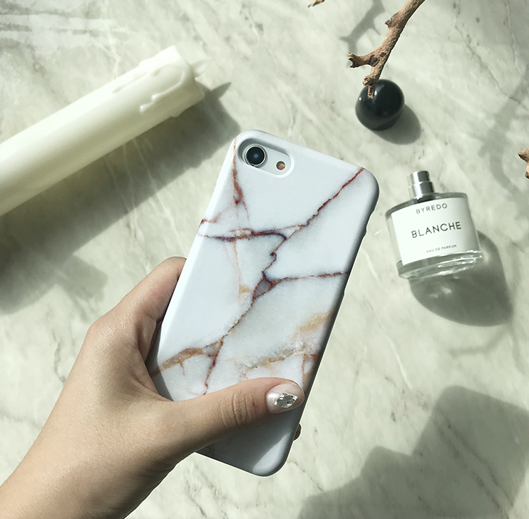 Brown Sugar marble phone case