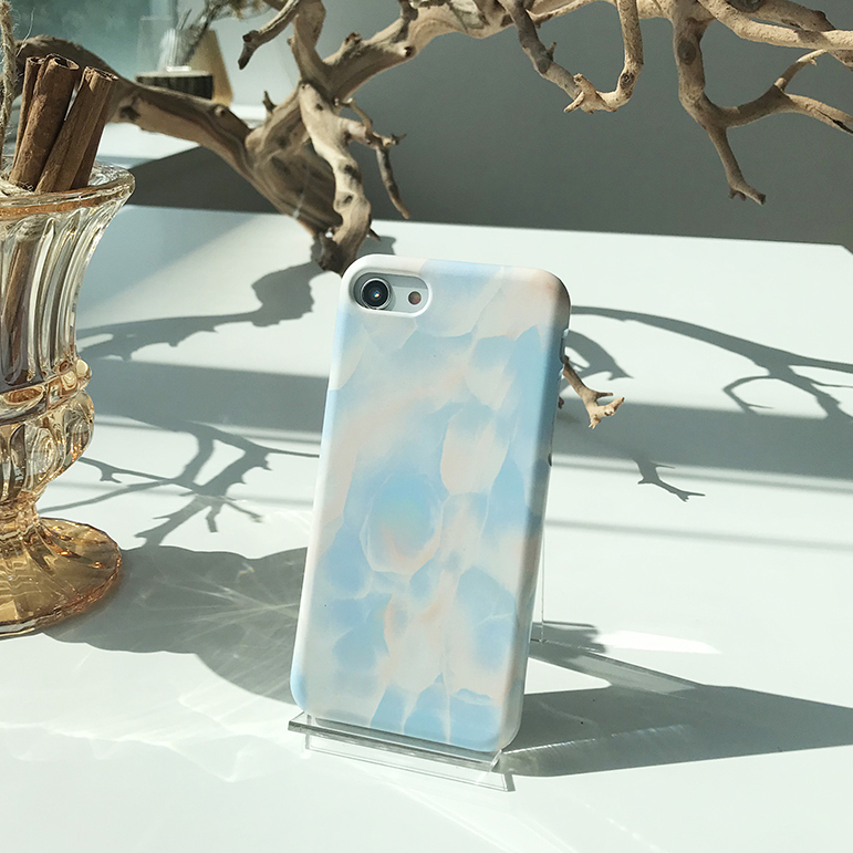 watercolor marble phone case