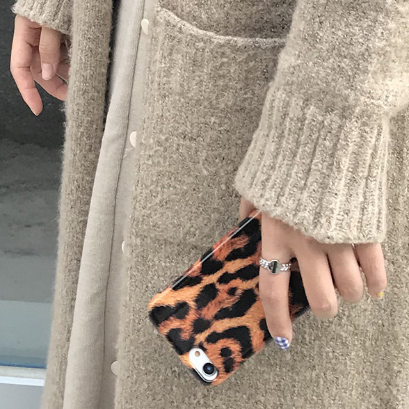 leopard phone case (유광)
