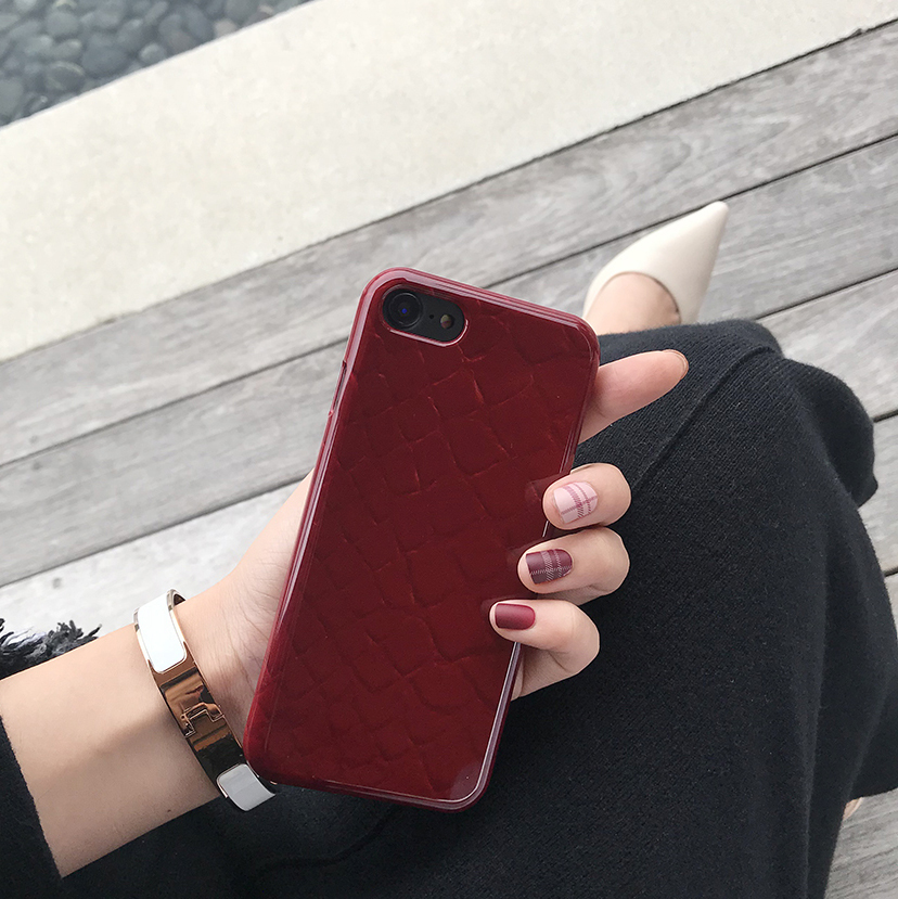 burgundy phone case (유광)