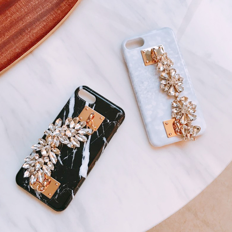 cubic chain phone case (3가지)