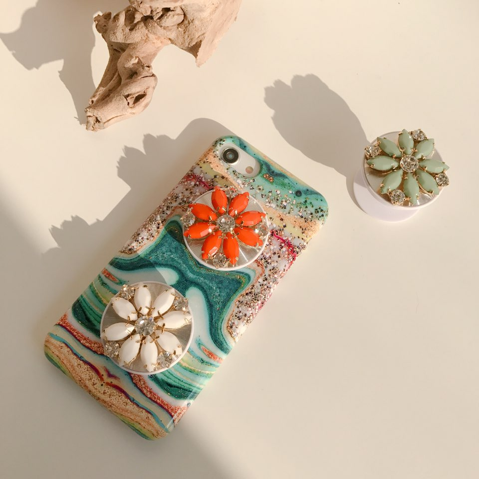 decalcomanie marble phone case