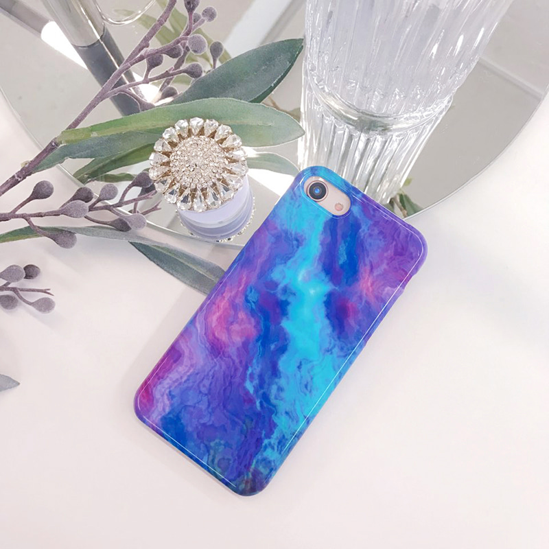 lavende marble phone case
