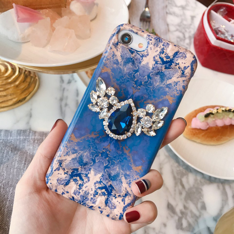 angel's wings (blue) phone case